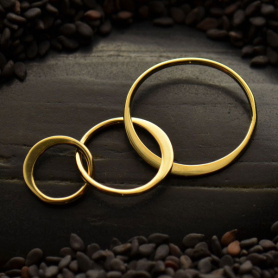 Bronze Three Circles of Life Link -37mm