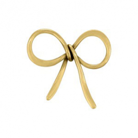 Jewelry Making Supplies - Bow Bronze Link DISCONTINUED