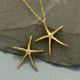 Starfish Bead - Bronze