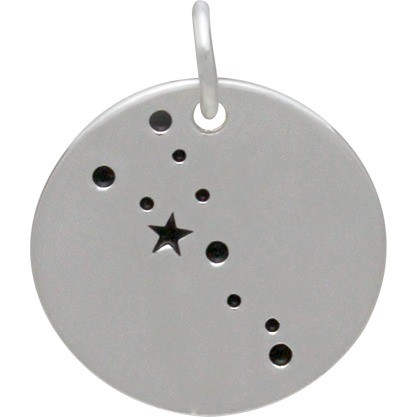 Taurus Constellation CharmSilver Plated Bronze DISCONTINUED