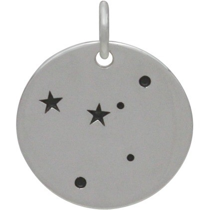 Cancer Constellation CharmSilver Plated Bronze DISCONTINUED