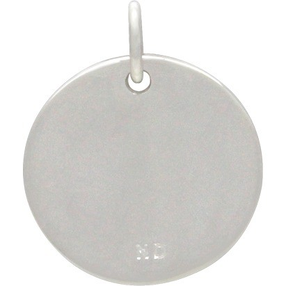 Virgo Constellation Charm -Silver Plated Bronze DISCONTINUED
