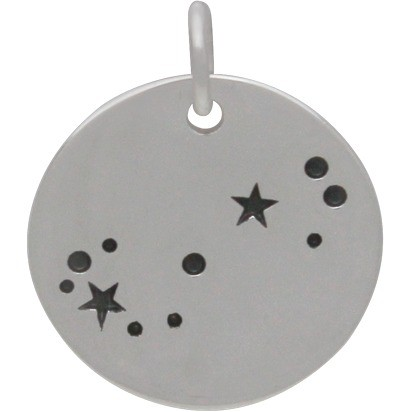 Scorpio Constellation Charm Silver Plated BronzeDISCONTINUED