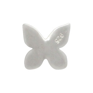 Sterling Silver Butterfly Charm Embellishment
