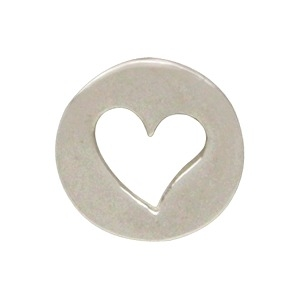 Sterling Silver Heart Charm Embellishment DISCONTINUED
