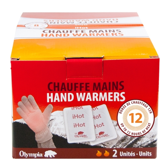 IHOT - HAND WARMERS, 40 UNIT DISPLAY