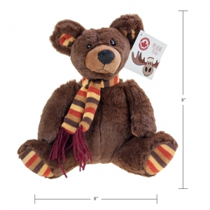 CANADA MOOSE - PLUSH TEDDY BEAR, 8