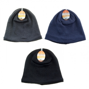 iHot - LINED WINTER TUQUE, ASST COLOURS