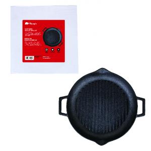 OLYMPIA - CAST IRON GRILL PAN, 31CM