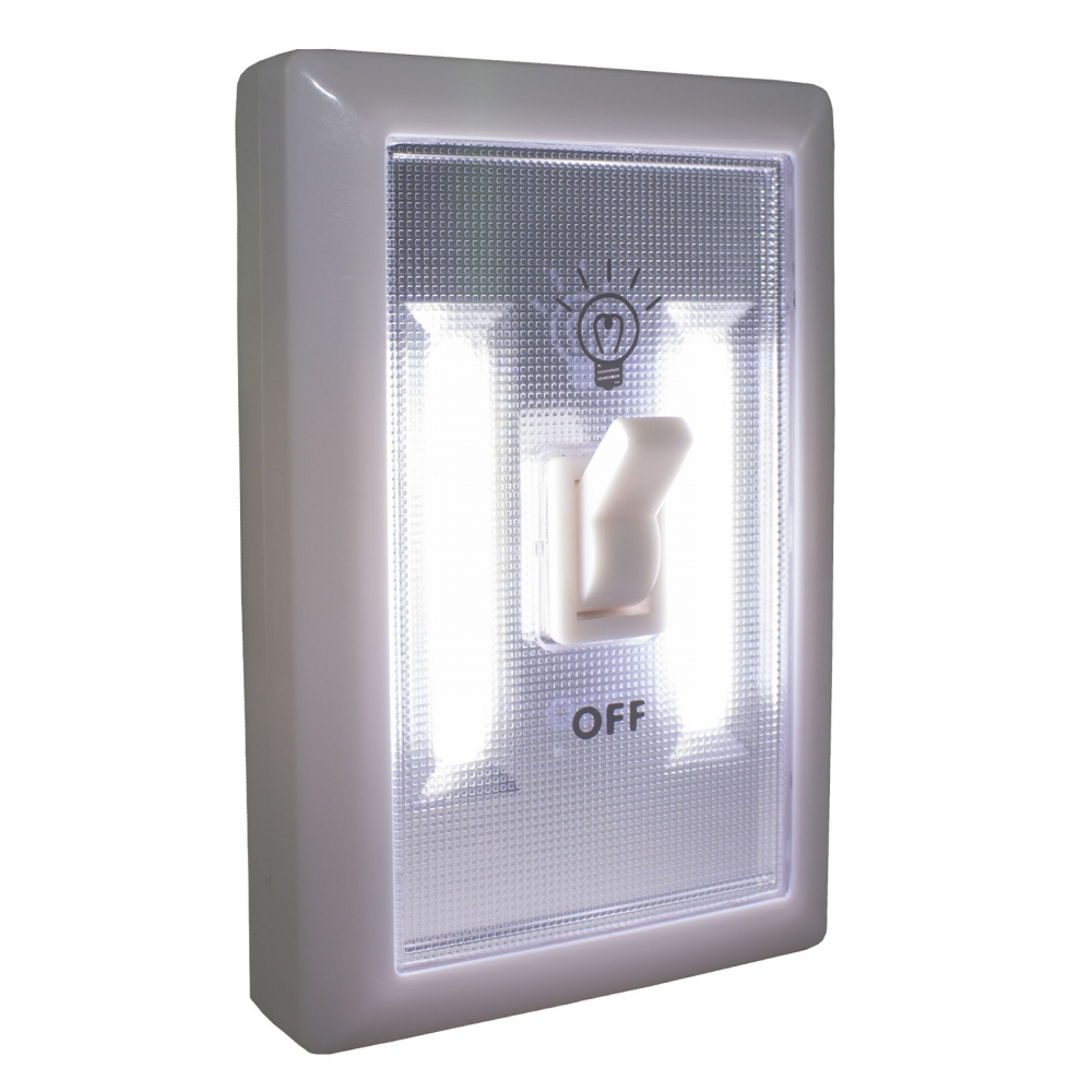 OLYMPIA - COB LIGHT SWITCH, 12PCS DISPLAY,BATTERIES INCLUDED