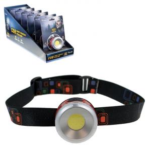 OLYMPIA - LED HEADLAMP, 160 LUMENS, 6PCS DISPLAY
