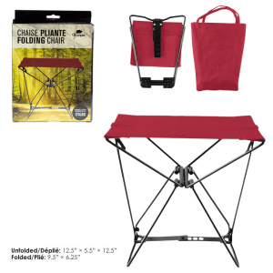 OLYMPIA - POCKET CHAIR WITH CASE, 175 LBS