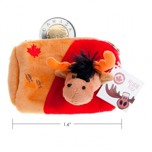 CANADA MOOSE - MOOSE COIN PURSE,  4