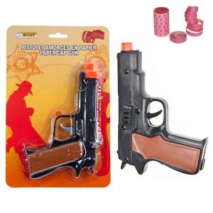 BULLET - TOY CAP GUN, PAPER CAPS