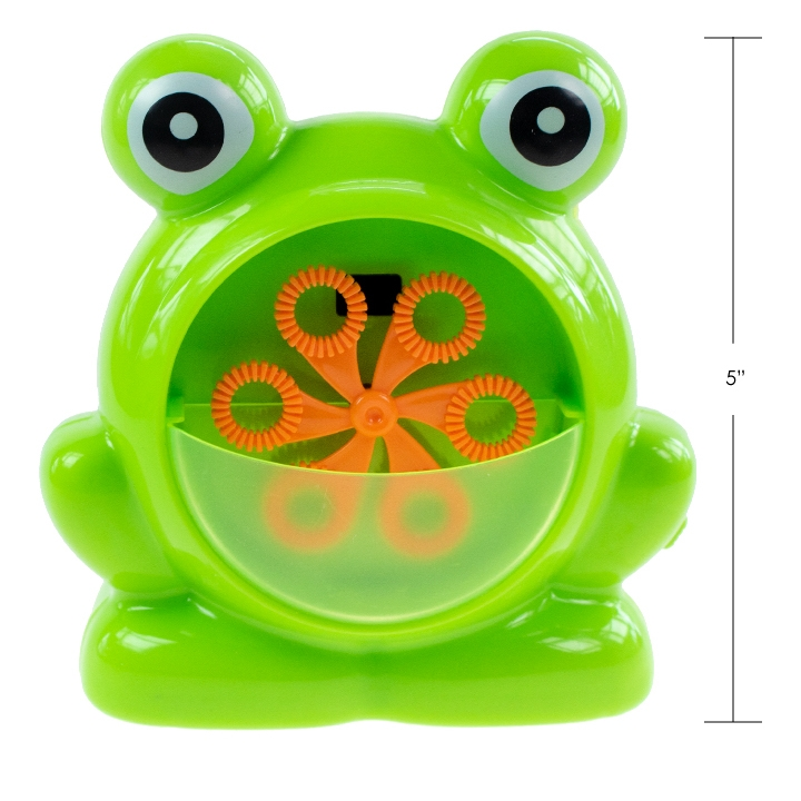 IPLAY - FROG FACE BUBBLE MACHINE
