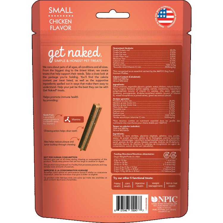 Get Naked Super Antioxidant Dental Chews | Dog