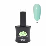#008 Mint Solid (Baby Mint) 10ML ALL ABOUT GEL