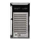 +W 3D FLARE TRAY 12MM X 0.15MM Graft a Lash