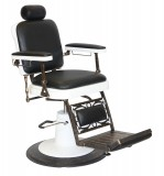 CHIcago Barber Chair Black/ Brown