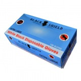 #Black Shield Disposable Gloves Extra Large 100 HI LIFT