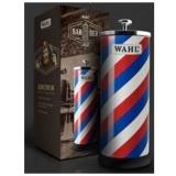 +Barber Pole Disinfectant Jar WAHL