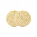 Cellulose Cleansing Sponges Yellow 2pk PURE BEAUTY