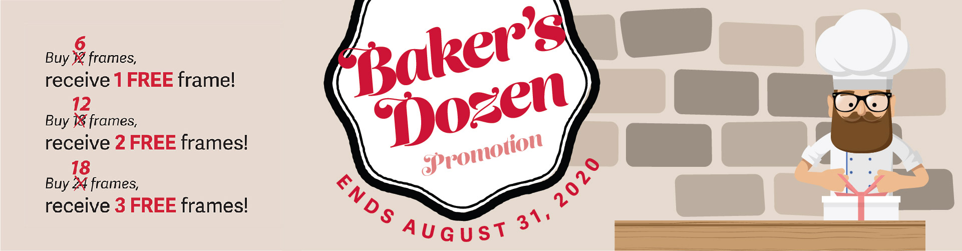 Half Bakers Dozen Promotion
