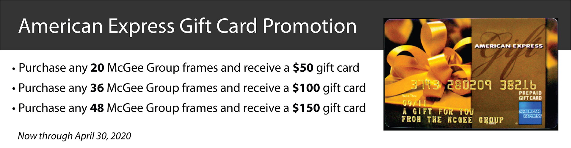 American Express Gift Card Promotion