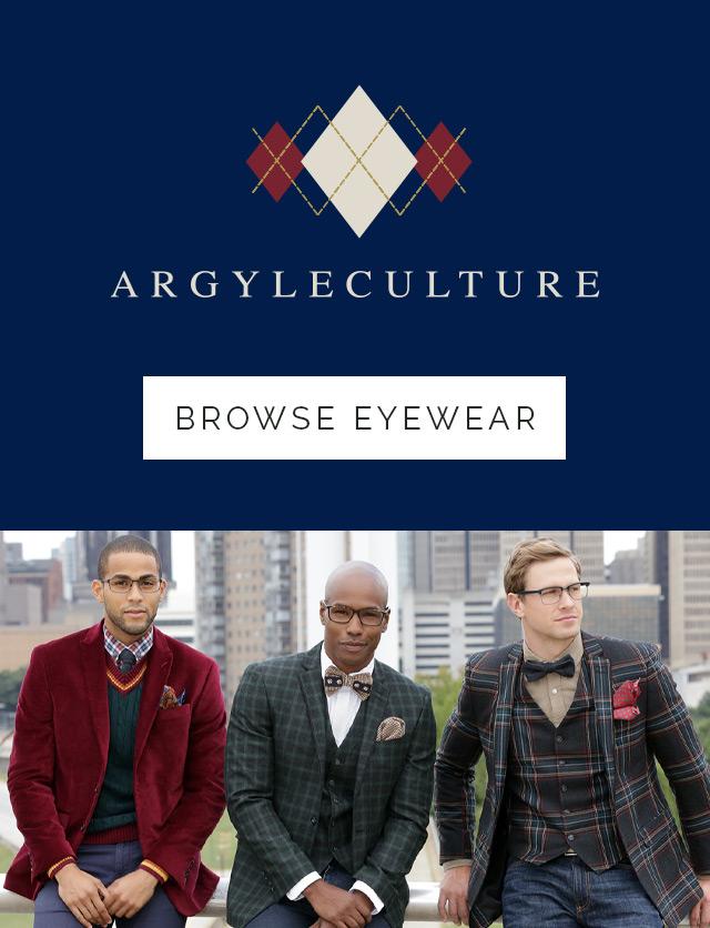 argyleculture eyewear for men