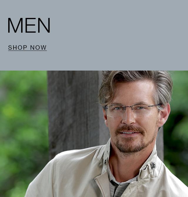 eyewear for men totally rimless