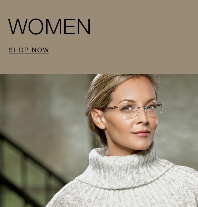 eyewear for women totally rimless