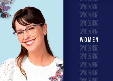 women's eye glasses and sunglasses