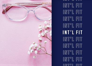 international fit eye glasses for women