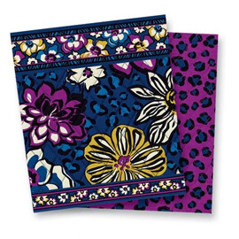 african violet vera bradley pattern