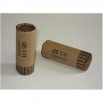 COIN CARTRIDGE TUBE, DOLLAR
