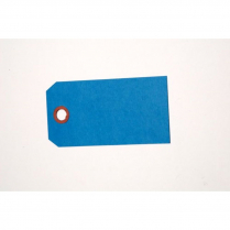 "TAGS, SHIPPING, PLAIN BLUE 2""X4"" SIZE #4"