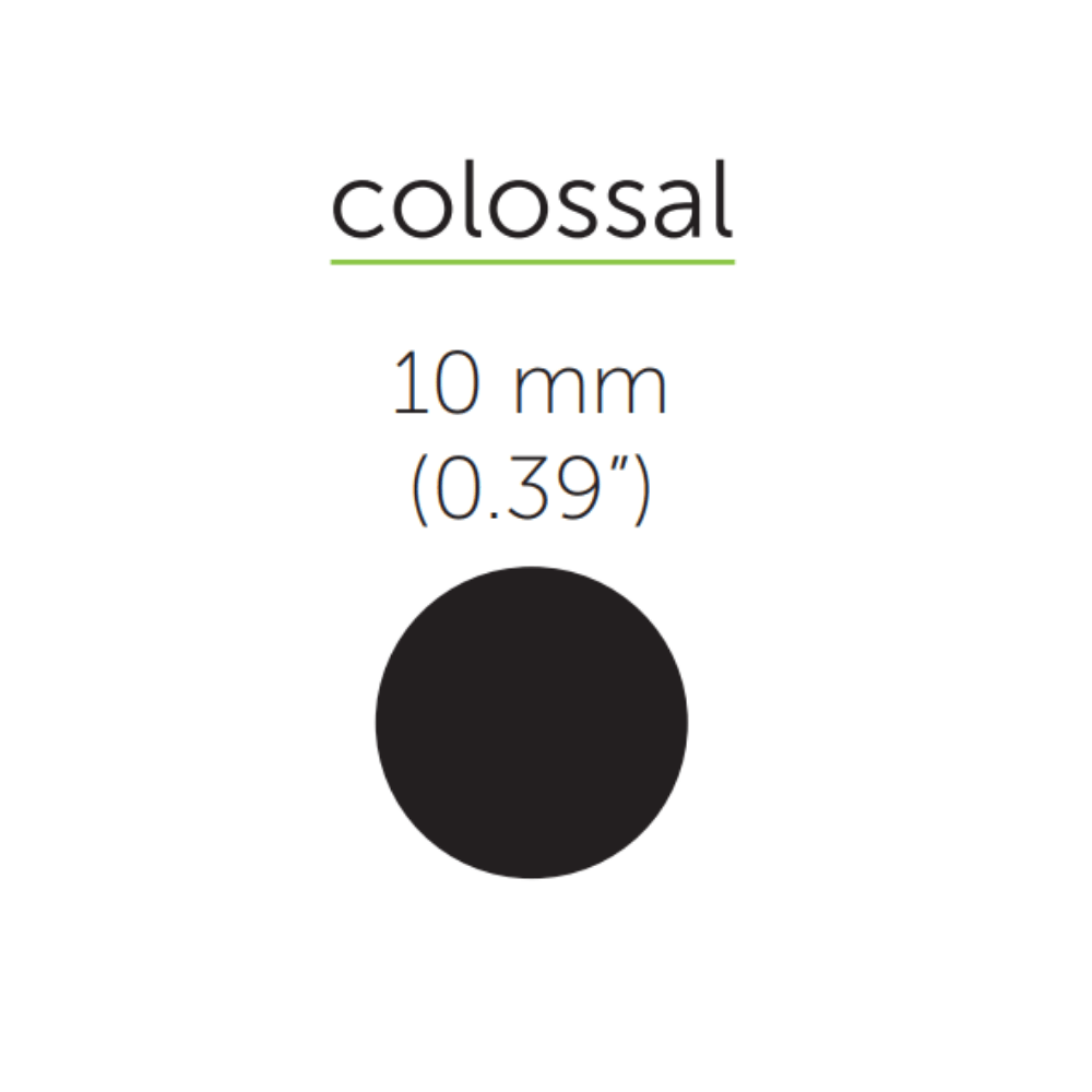 """Colossal-216mm (8.5"""")Wrapped W"""