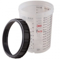 3M™ PPS™ Paint Preparation System Cup and Collar, Large