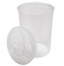 3M™ PPS™ Lids and Liners Kit, Large, 850 ml