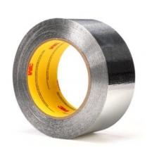 3M™ Aluminum Foil Tape,4.5 mil,  Silver, 1/2