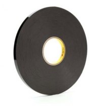 "3M™ VHB™ 4929 Acrylic Foam Tape, Black, 3/4"" x 72 yds"