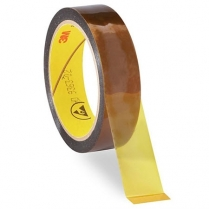 "3M™ 5419 Low Static Polyimide Film Tape, 1"" x 36 yds"