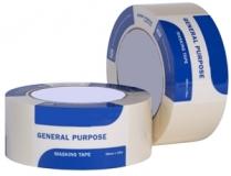 General Purpose Masking Tape, Natural,  24 mm x 55 m