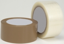 Economy Box Sealing Tape, Clear, 48 mm x 100 m