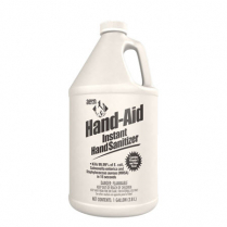 Aero® Hand Aid Instant Hand Sanitizer, 1 Gallon Bottle, 4/cs