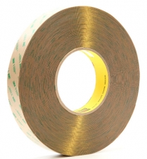 "3M™ F9473PC Adhesive Transfer Tape, 10 mil, 1"" x 60 yds"