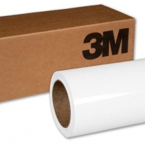 """3M™ 1080-G10 Scotchprint™ Wrap Film,Gloss White, 60"""" x 10yd"""