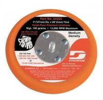 """Dynabrade® Disc Pad,5"""" NV Hook Face, Medium Density ,3/8"""""""