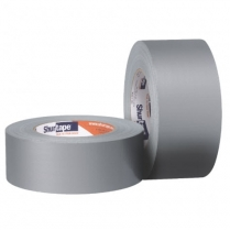 Shurtape® Cloth Duct Tape, 8 mil, Silver, 48 mm x 55 m