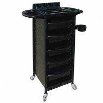 Milan Hair Trolley with Flaps & Metal Sides